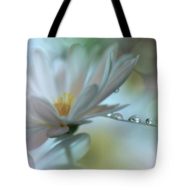 ..light Touch... Tote Bag by Juliana Nan