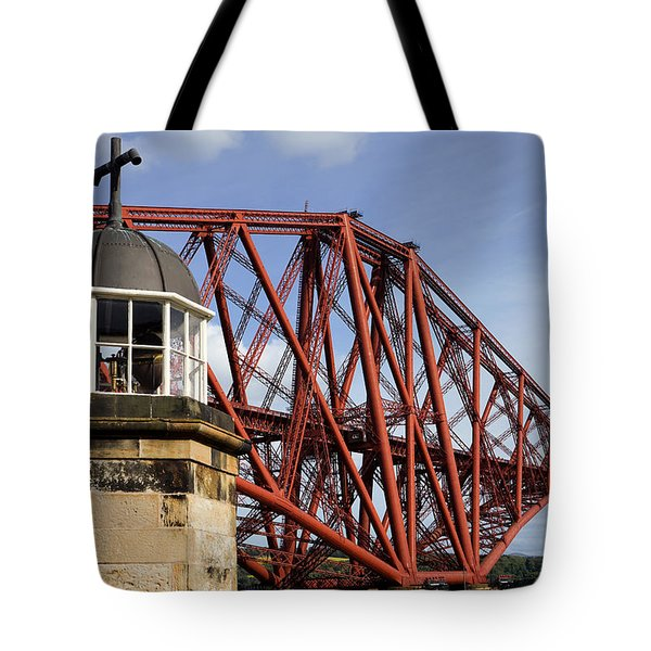Tote Bag featuring the photograph Light Tower by Jeremy Lavender Photography