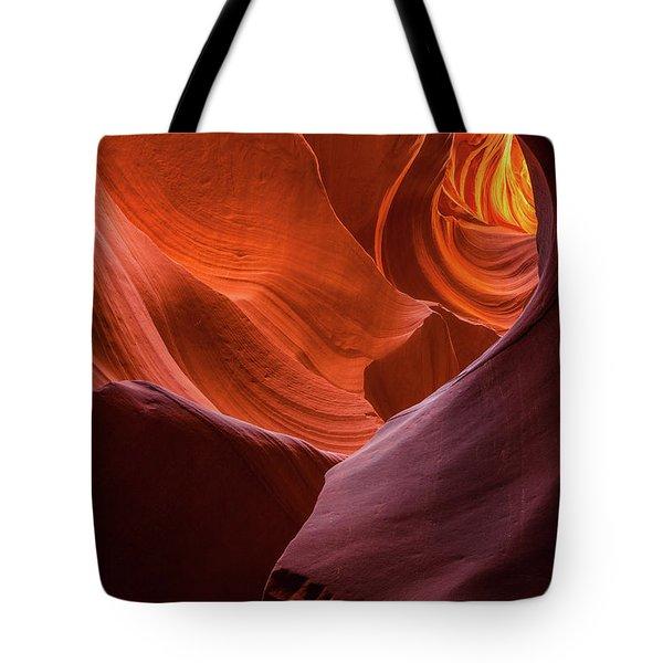 Light Tunnel - Antelope Lower Tote Bag