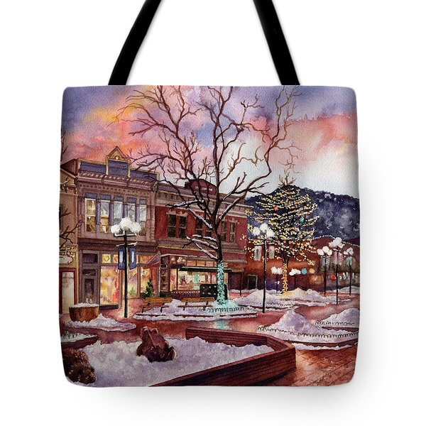 Light Up Heaven And Earth Tote Bag