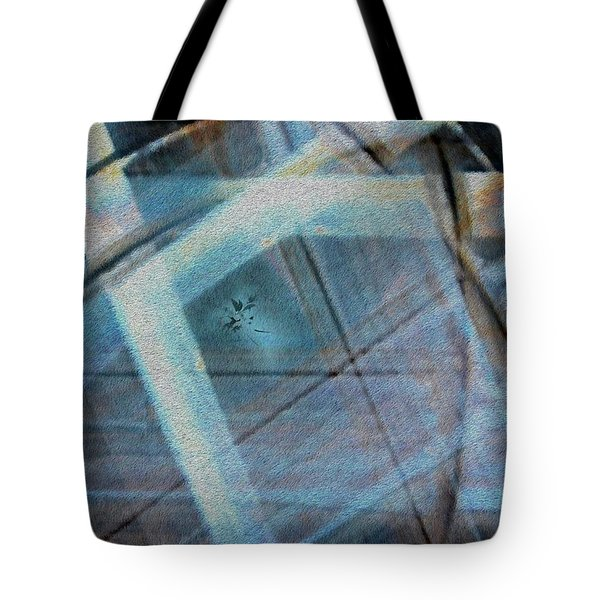 Light Wave Rust Tote Bag