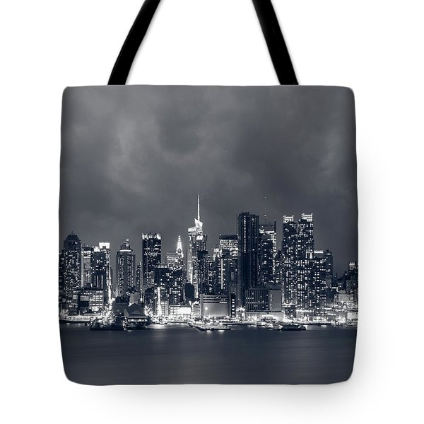 Light Will Drive Out Darkness Tote Bag