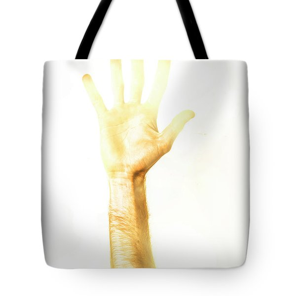 Light Worker Outreach Tote Bag