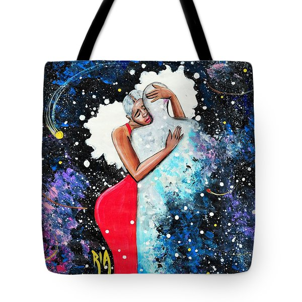 Light Years For Love Tote Bag