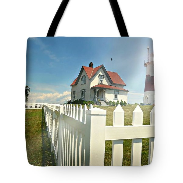 Light In Your Heart Tote Bag