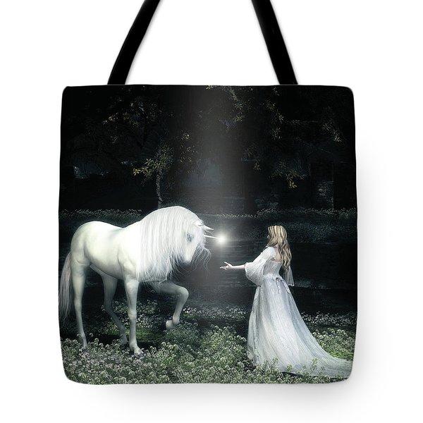 Lightbringer Tote Bag by Melissa Krauss