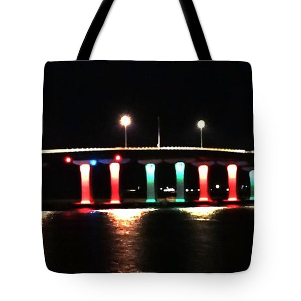 Lighted Bridge Tote Bag