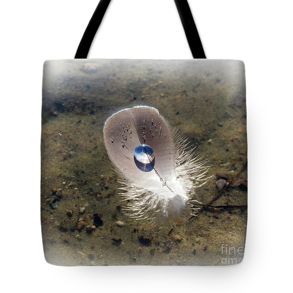 Tote Bag featuring the photograph Lighten Up by Michelle Wiarda