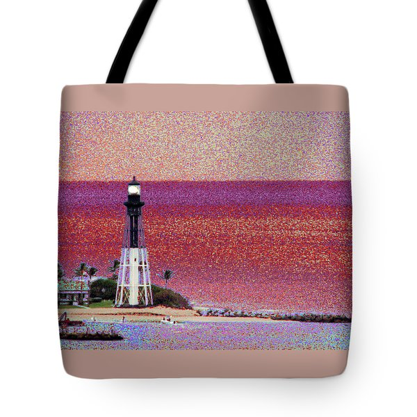Lighthouse 1014 Tote Bag