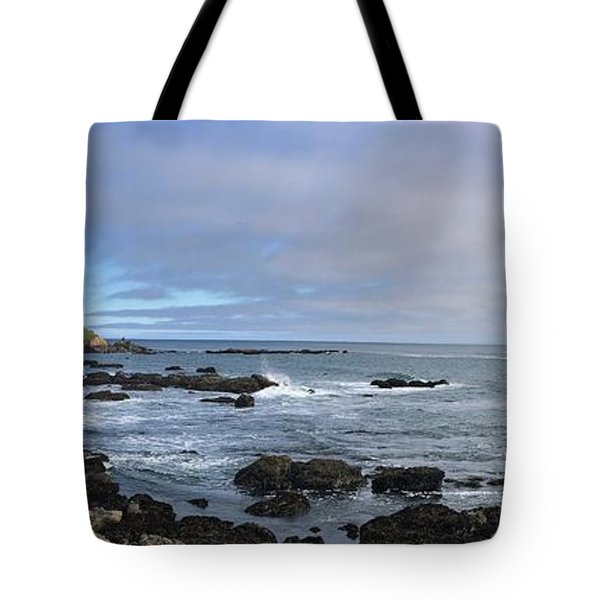Lighthouse And Coastview Tote Bag