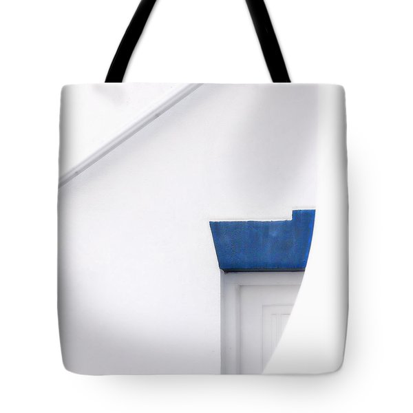 Lighthouse Door Detail Abstract Tote Bag