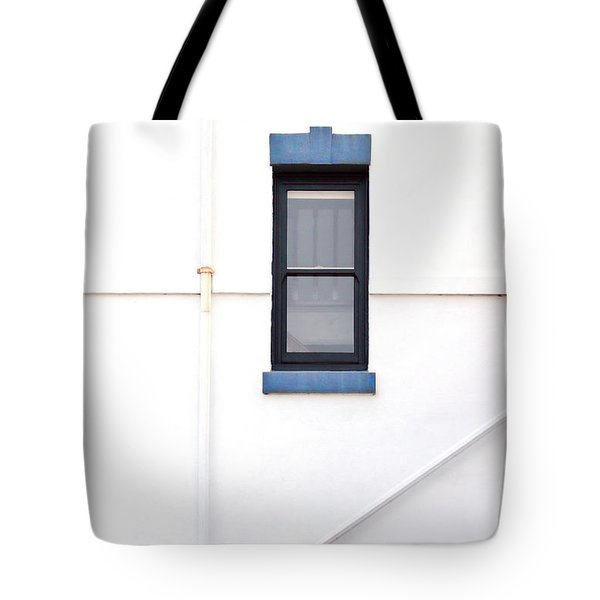 Lighthouse Door Window Detail Abstract Tote Bag