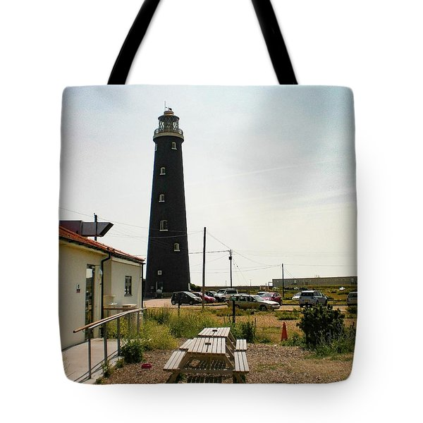 Lighthouse, Dungeness, Kent Tote Bag