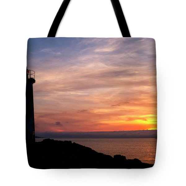 Tote Bag featuring the photograph Lighthouse by Fabrizio Troiani