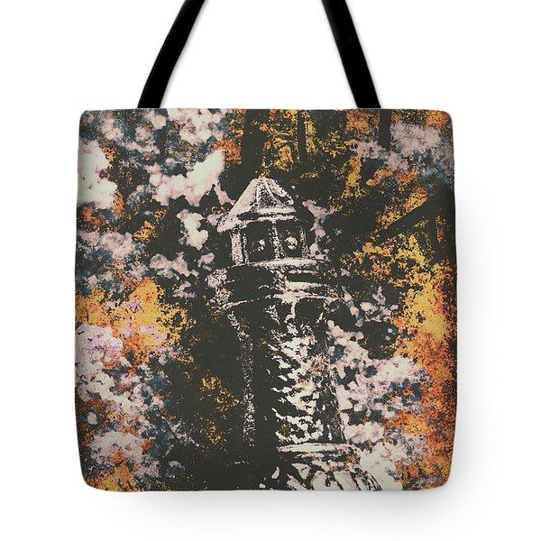 Lighthouse From Rust Harbour Tote Bag