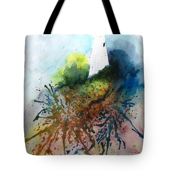 Lighthouse I - Original Sold Tote Bag