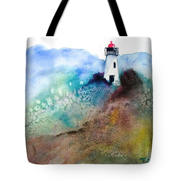 Lighthouse II - Original Sold Tote Bag