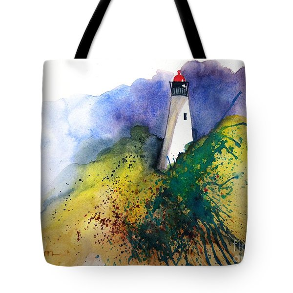 Lighthouse IIi - Original Sold Tote Bag