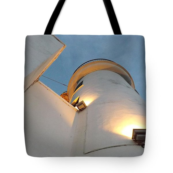 Scarborough Lighthouse Tote Bag