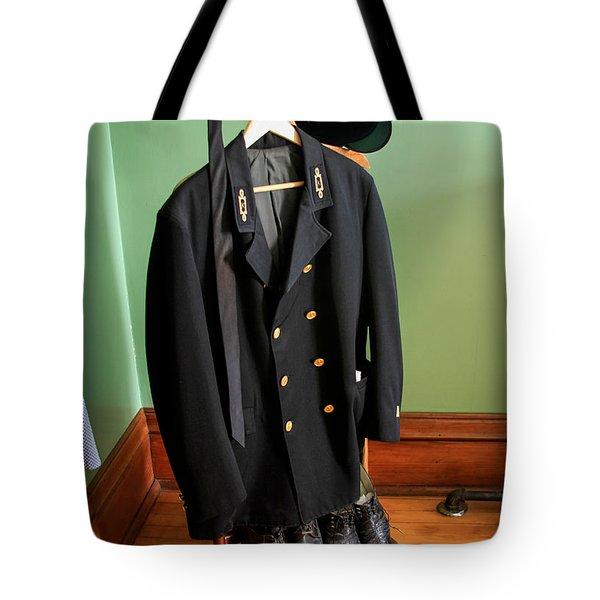 Lighthouse Keeper Uniform Tote Bag