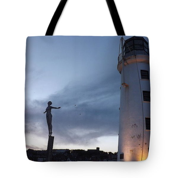 Lighthouse Lady 2 Tote Bag