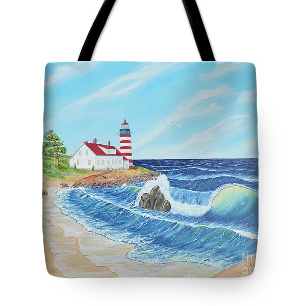 Lighthouse Life Tote Bag
