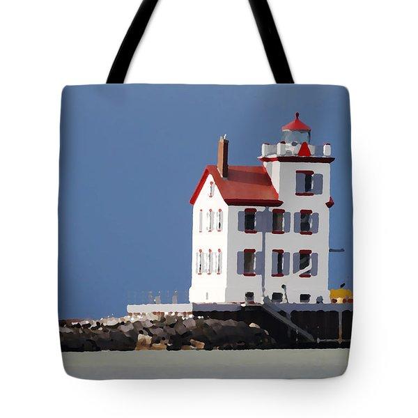 Lighthouse Oils Tote Bag