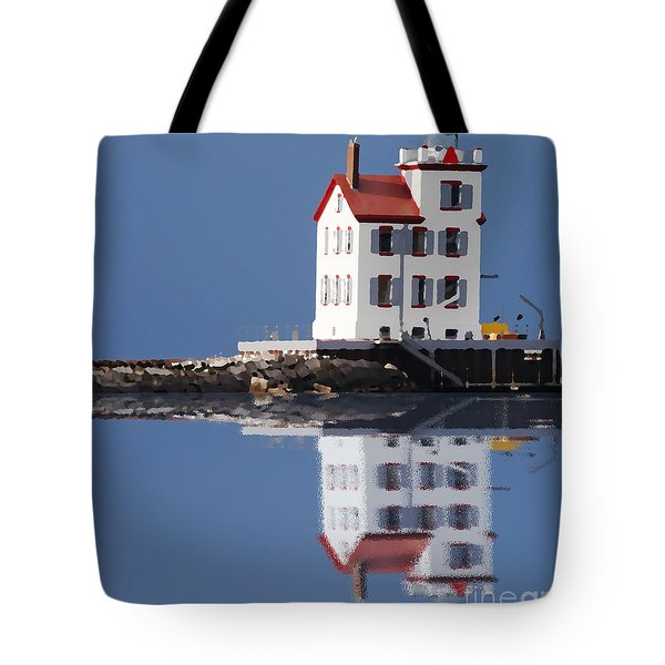 Lighthouse Oils Reflection Tote Bag