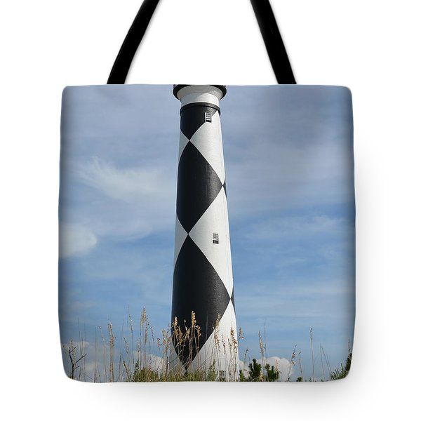 Lighthouse On The Cape Tote Bag