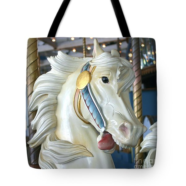 Lighthouse Park Carousel B Tote Bag