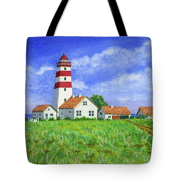 Lighthouse Pasture Tote Bag