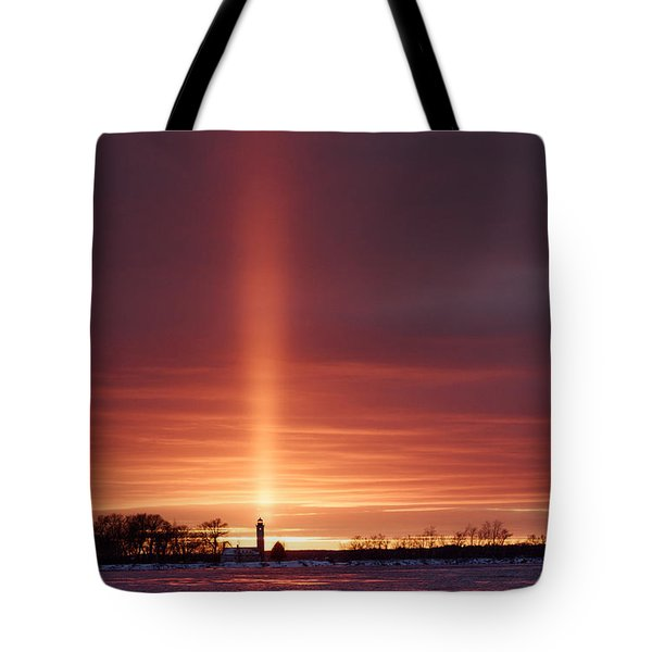 Lighthouse Point Head Light Tote Bag