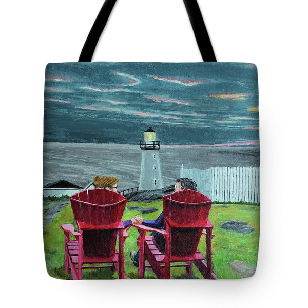 Lighthouse Lovers Tote Bag