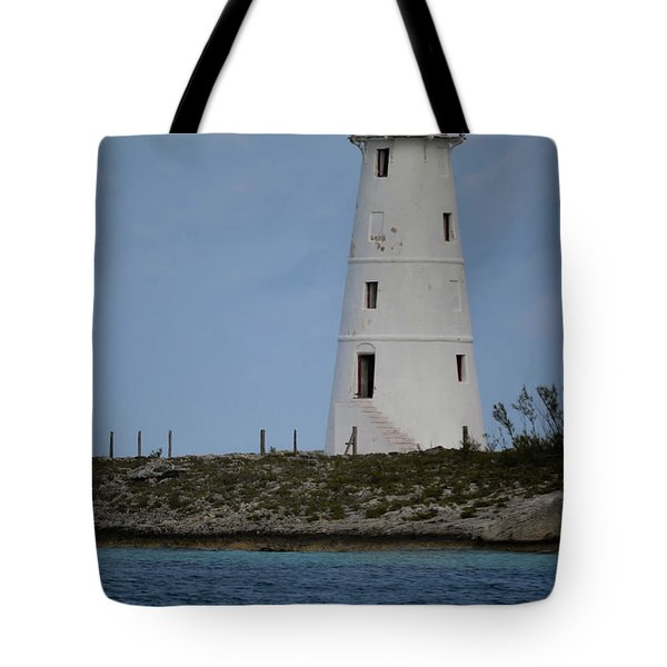 Lighthouse Watch Tote Bag