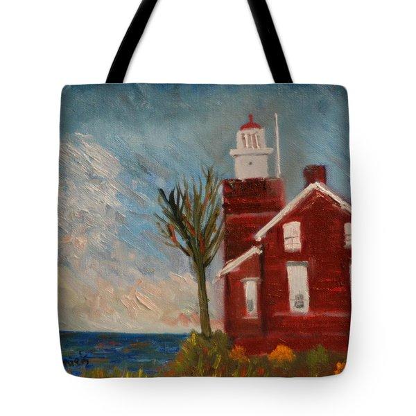 Big Bay Lighthouse  Tote Bag