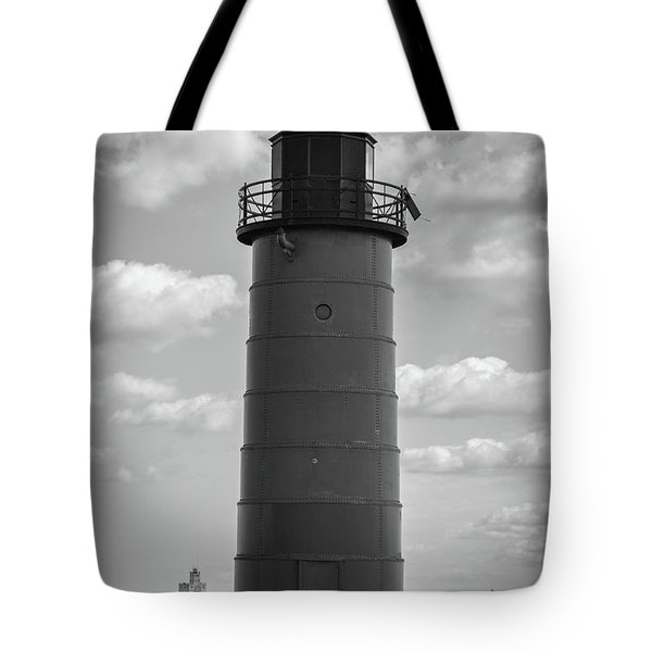 Lighthouses Of Milwaukee Tote Bag