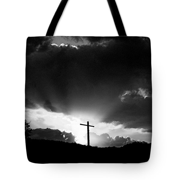 Lighting Faith Tote Bag by Karen Musick