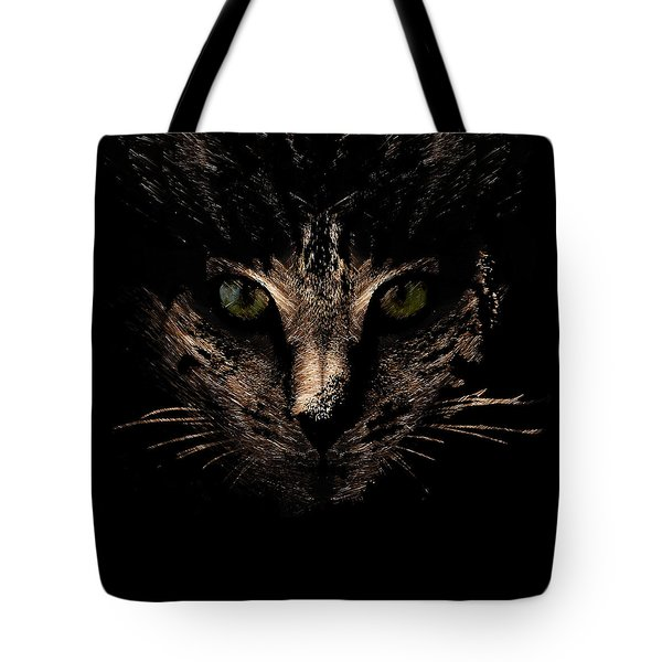 Tote Bag featuring the photograph Lighting by Helga Novelli