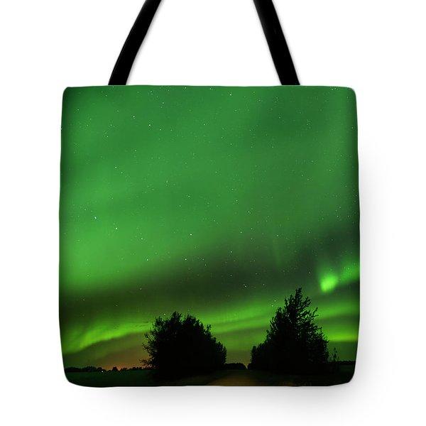 Lighting The Way Home Tote Bag