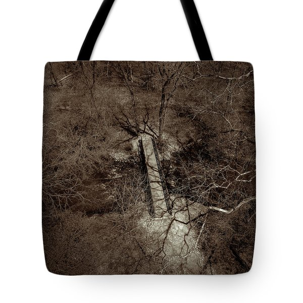 Lighting The Way Tote Bag