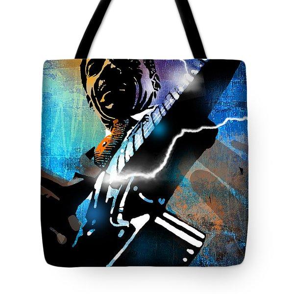 Lightnin Slim Tote Bag by Paul Sachtleben