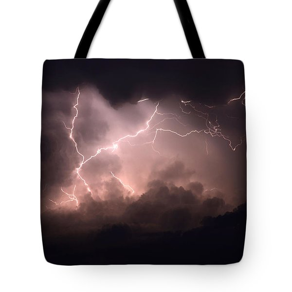 Lightning 2 Tote Bag by Bob Christopher