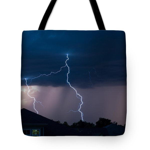 Lightning 2 Tote Bag