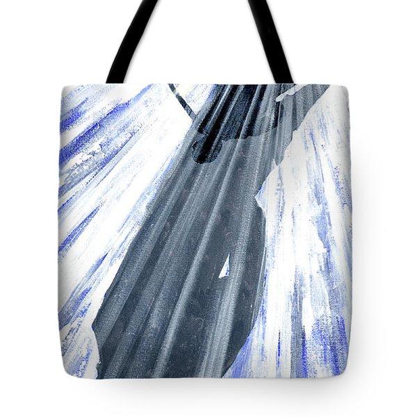 Lightning And Shadow Tote Bag