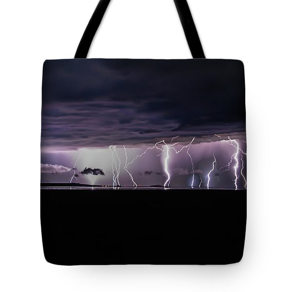 Fingers Of God Tote Bag