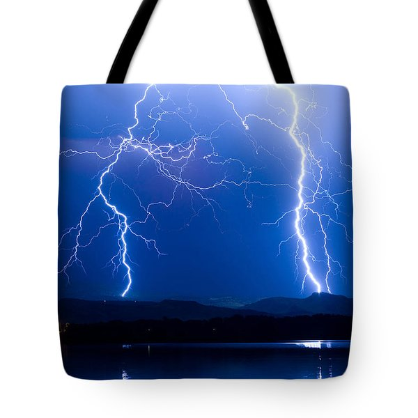 Lightning Storm 08.05.09 Tote Bag by James BO  Insogna