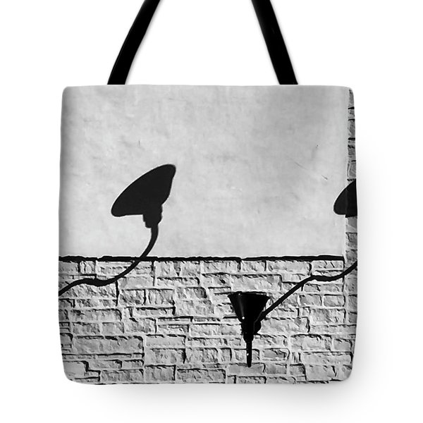 Lights And Texture Tote Bag
