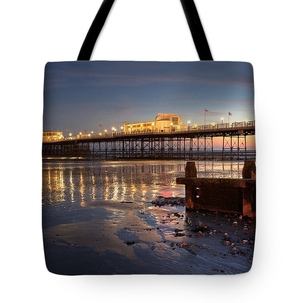 Lights At Dusk Tote Bag