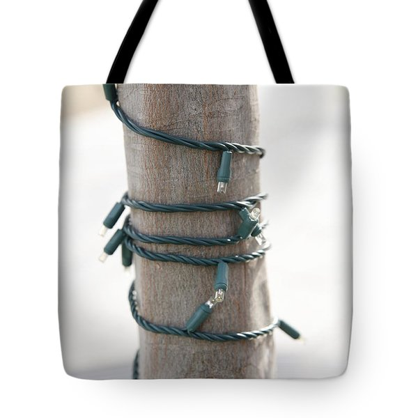 Lights In The Park Tote Bag