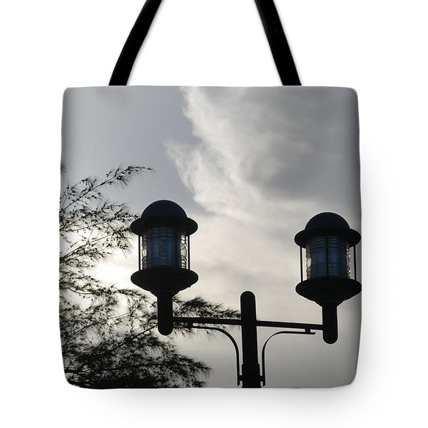 Lights In The Sky Tote Bag by Rob Hans